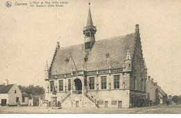 Damme - Het Stadhuis ( Hotel De Ville ) - Damme