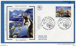 L4T692 FRANCE 1997 FDC Parc Des Pyrénées 4,50f Arrens Marsous 12 04 1997 /env. Illus. - 1990-1999