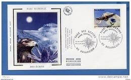 L4T694 FRANCE 1997 FDC Parc Des écrins 3,00f Briançon 12 04 1997 /env. Illus. - 1990-1999
