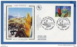 L4T695 FRANCE 1997 FDC Parc De La Guadeloupe  3,00f Petit Bourg 12 04 1997 /env. Illus. - 1990-1999