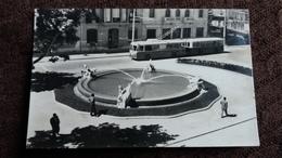 CPSM TROLLEYBUS TARRAGONA FONTAINE DU CENTENAIRE ET AVENUE 1956 CHINCHILLA Y GONDRA 109 - Bus & Autocars