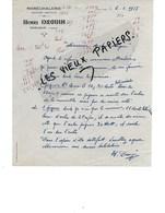 88 - Vosges - SERCOEUR - Facture DROUIN - Maréchalerie, Machines Agricoles - 1955 - REF 137A - France