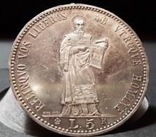 San Marino Vecchia Monetazione 1864-1938 5 Lire 1898 Spl/q.fdc D.833 - San Marino