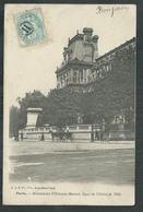 Oblitération Jour De L'an Chiffre Romain II Dans Un Cercle Sur Type Blanc - Postmark Collection (Covers)