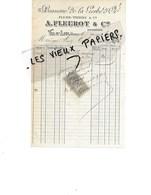 88 - Vosges - VAL-D'AJOL - Facture FLEUROT - Brasserie De La Gerbe D'or - 1894 - REF 137A - France