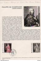 L4U314 France Document Philippe De Champaigne Richelieu 2,00f Paris 23 03 1974 - Postdokumente