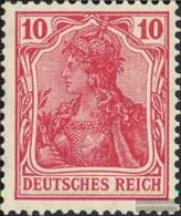 German Empire 86II War Pressure Unmounted Mint / Never Hinged 1915 Germania - Deutschland