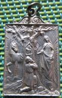 Religious Medal - Notre Dame Des Trois Epis - Religion & Esotérisme