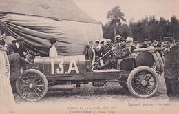 D72  Circuit De La Sarthe 1906   Voiture Clément 13 A Au Pesage - Le Mans