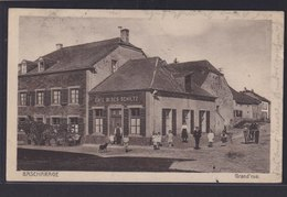 Ansichtskarte Barscharage Luxemburg Cafe Bloes Schiltz Fahrrad Königswinter NRW - Unclassified