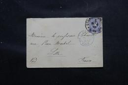 FRANCE / ALLEMAGNE - Enveloppe De Strasbourg Pour Lille En 1879, Affranchissement Plaisant - L 58468 - Marcofilia (sobres)