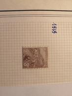 Monaco - N°27 Orphelins De Guerre - 2+3c Violet Brun - Neuf Avec Charnière - Cote 45€ - Neufs