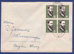 Brief Mit Mehrfachfrankatur MiNr. 252, Bogenrand (br9882) - [7] Federal Republic