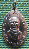 Religious Medal - 1996 - Voyage De Jean Paul II En France - Religion & Esotérisme