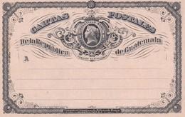 Carte Entier Postal Guatemala - Guatemala