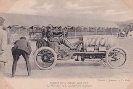 D72  Circuit De La Sarthe 1906   La Hotchkiss 12 C Conduite Par Shephard - Le Mans