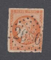 France - Timbres Oblitérés - Type Cérès émission De Bordeaux - N°48 - Cote: 160 Euros - 1870 Emissione Di Bordeaux