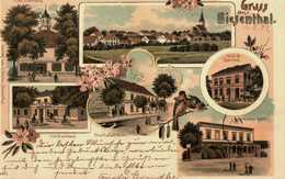 Gruss Aus Biesenthal. Altes Rathhaus. Schützenhaus. Adermanns Hotel. 1899 - Biesenthal