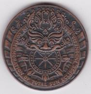 Indonésie Medaille Éclipse Solaire 1983 Indonesia Solar Eclipse - Andere