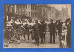 BELGIQUE - BINCHE Carnaval, Groupe De Gilles En Petite Tenue (voir Descriptif) - Binche