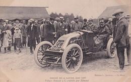 D72  Circuit De La Sarthe 1906  Voiture Renault 3 C Conduite Par Edmond ( En Fait C'est La 3 B ) - Le Mans