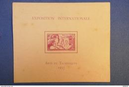 B39 WALLIS ET FUTUNA EPREUVE DE LUXE 1937 ARTS ET TECHNIQUES - Wallis Und Futuna