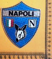 143 NAPOLI SCUDETTO CALCIO VINTAGE BELLISSIMO ADESIVO STICKER AUTOCOLLANT ETIQUETA NUOVO NEW #07AD - Autocollants