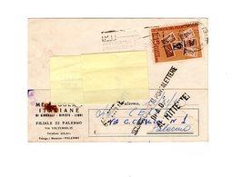 P0778 CEDOLA COMMISSIONE LIBRARIA MESSAGGERIE ITALIANE FILIALE PALERMO GIORNATA DEL FRANCOBOLLO L. 15 - 6. 1946-.. Repubblica