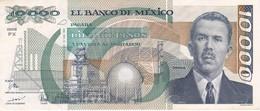 BILLETE DE MEXICO DE 10000 PESOS AÑO 1991 DE CARDENAS CALIDAD EBC (XF)  (BANKNOTE) - Mexico