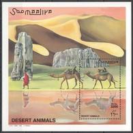 C846 2000 SOOMAALIYA FAUNA DESERT ANIMALS 1BL MNH - Altri
