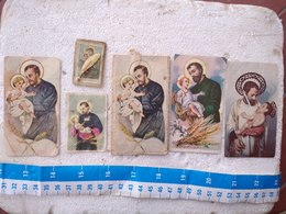 Argentina Argentine Holy Card St Cayetano Cayetan 6 Cards LOT #9 - Religion & Esotérisme