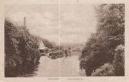 Opladen River Wupperpartie Antique German Postcard - Allemagne