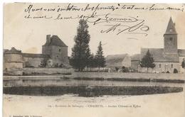 Chazeuil : Ancien Château Et église (Editeur J. Boisselier, Selongey, N°19) - Other Municipalities