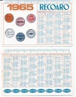 Calendarietto Recoaro 1965 - Calendario - Calendriers