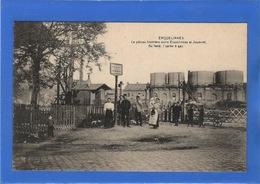 BELGIQUE - ERQUELINNES Le Poteau Frontière Entre Erquelinnes Et Jeumont... - Erquelinnes