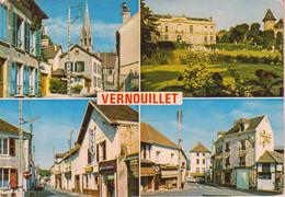 VERNOUILLET  78   :  Multivues  Village , église , Concessionnaire Philips - Vernouillet