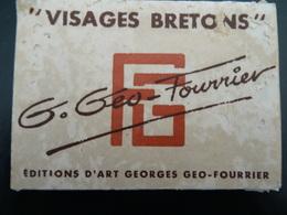 Carnet 9X6,5 Illustrateur-Coiffes Bretonnes Géo Fourrier Lesconil-Douarnenez-Penmarch-Fouesnant-Quimper-Plougastel-Sizun - Sonstige Gemeinden