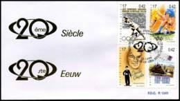 [F7785] 2868 - FDC - 20ste Eeuw  #3  P1340 - 1991-00