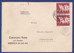 Brief Mit Mehrfachfrankatur MiNr. 215 (br9890) - Briefe U. Dokumente