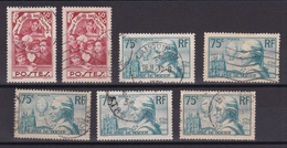 D 152 / LOT N° 312/313 OBL COTE 25€ - Collections