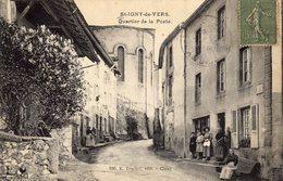 ST IGNY DE VERS(69 RHÔNE) QUARTIER DE LA POSTE - France