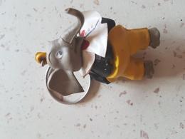 IVOR - éléphant- Café - Porte-clefs
