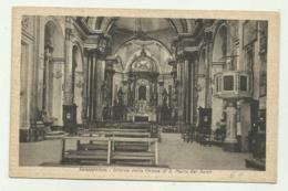 SANSEPOLCRO - INTERNO DELLA CHIESA DI S.MARIA DEI SERVI  - NV  FP - Arezzo