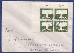 Brief Mit Mehrfachfrankatur MiNr. 268, Eckrand (br9901) - [7] Federal Republic