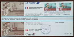 CM 1984 - YT N°2307 - JACQUES CARTIER - SAINT MALO / QUEBEC - Cartoline Maximum
