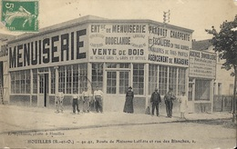 HOUILLES - Route De Maisons-Laffitte Et Rue Des Blanches - Houilles