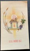 "SANTINO -  Holy Card "" Ricordo Sacerdozio,  Ecce Agnus Dei  ""  Ed.C.F.5 - Religion & Esotérisme"