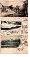 Haute Saône :Scey Sur Saône : Lot De 3 Cartes Anciennes - France
