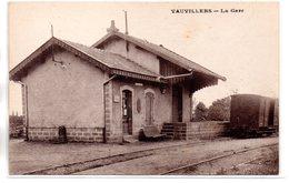Haute Saône : Vauvillers: La Gare - France
