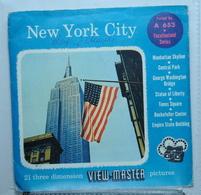 VIEW MASTER  : NEW YORK CITY :  POCHETTE DE 3 DISQUES - Visionneuses Stéréoscopiques